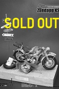 1/6 SCALE WII GERMANY MOTORCYCLE ZUNDAPP KS750 - CAMO